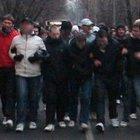 Футбольные фанаты перекрыли Ленинградский проспект