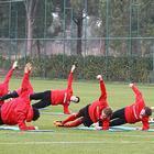 Первая тренировка «Спартака» в Испании