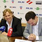Пресс-конференция футбольного и хоккейного «Спартака» (Фото)